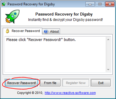 Digsby password decrypter