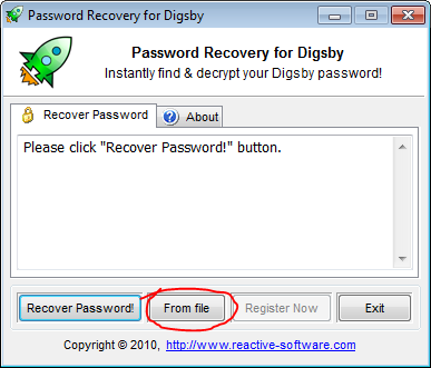 Digsby password ripper