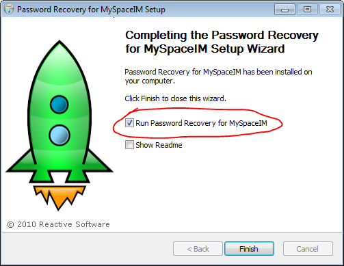 MySpace password hacker