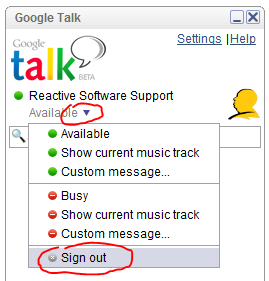 Google Talk password cracker